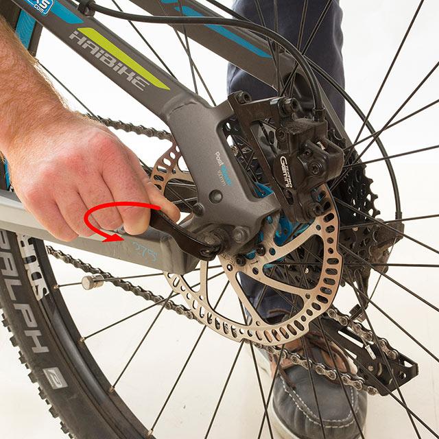 """Roues De Vélo 26/"""" Motorized Bicycle avec monté Arrière Chaîne Pignon."""