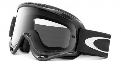 oakley masque xs o frame mx jet black clear ref 01 651