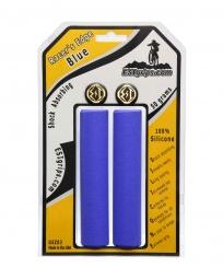 esi paire de grips racer s silicone bleu 30mm