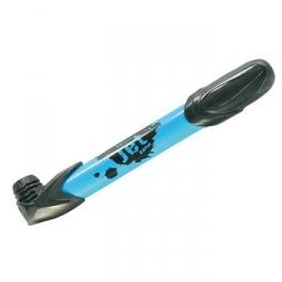 zefal mini pompe universelle jet bleu clair