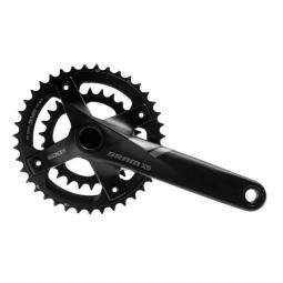 sram pedalier x5 175 mm 39 26 bb30 2x10v noir sans boitier bb30