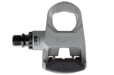 look paire de pedales route keo easy gris