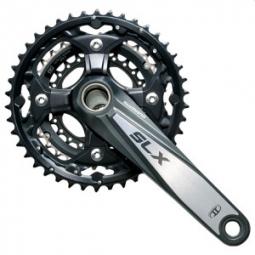 shimano pedalier slx hollowtech ii 3x10v fc m660 175mm 42 32 24 boitier 10v