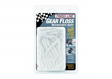 finish line kit entretien gear floss 20 cordes en microfibre