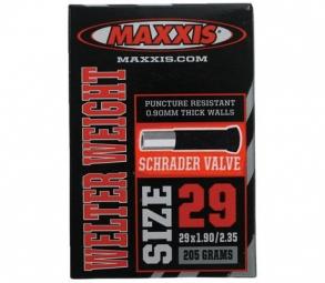 maxxis chambre a air welter weight 29 x 1 9 2 35 valve schrader 29