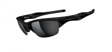 oakley lunettes half jacket 2 0 pol black w black irid ref oo9144 01
