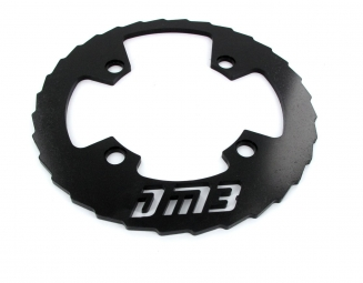 dm3 bash guard alu 36 38 dents noir