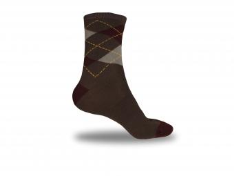 endura chaussettes argyll sock twinpack burgundy