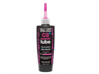 muc off lubrifiant ceramic lub c3 120 ml wet lube