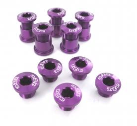 a2z vis plateaux x5 anodisees purple vis petit plateau