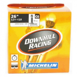 michelin chambre a air dh racing c6 26x2 2 2 8 presta