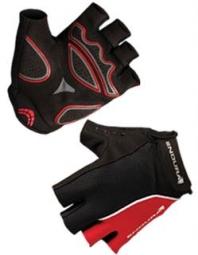endura gants courts rapido mitt rouge