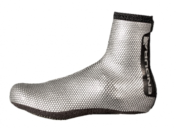 endura couvre chaussures road argent