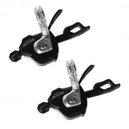 shimano paire de shifters m980 xtr 10 vitesses av ar double triple dyna sys