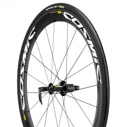 mavic roue arriere cosmic carbon sle wts version shimano sram pneu yksion pro