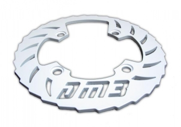 dm3 bash guard alu 38 40 dents blanc