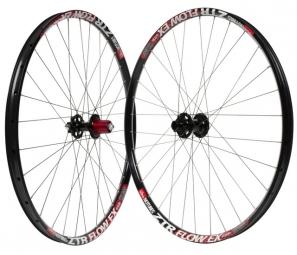 notubes paire de roues ztr flow ex 27 5 20mm 9x135mm noir