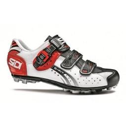 chaussures vtt sidi eagle 5 fit blanc rouge noir