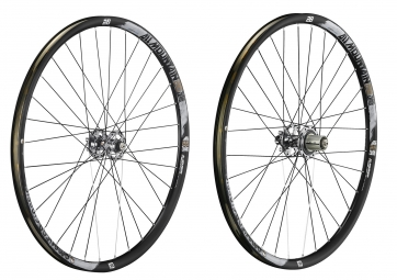 american classic paire de roues 29 all mountain 15 12x142mm tubeless noir