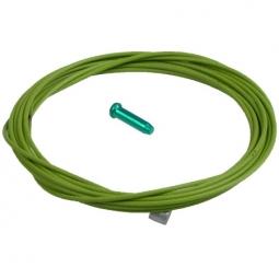 kcnc cable de derailleur teflon vert