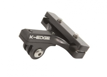 k edge support chariot de selle pour camera gopro noir