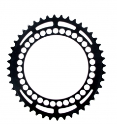 rotor plateau route interne q ring 46 dents 130 ea noir