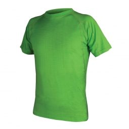 endura t shirt manches courtes baabaa merino baselayer kelly vert