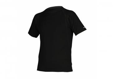 endura t shirt manches courtes baabaa merino baselayer noir