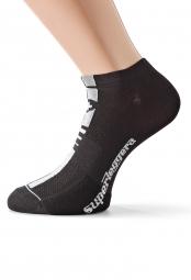 assos paire de chaussettes superleggerasocks s7 noir