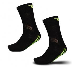 endura paire de chaussettes equipe cashmere noir