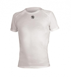 endura t shirt manches courtes translite baselayer blanc