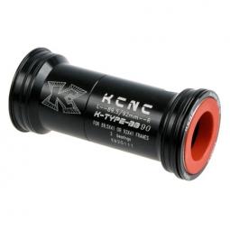 kcnc adaptateur boitier de pedalier bb92 noir