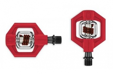 crankbrothers paire de pedales candy 1 rouge