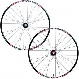 notubes paire de roues arch ex 29 15 12x142mm noir