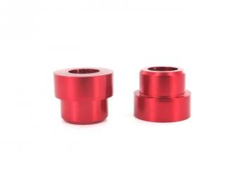 sb3 kit entretoises d amortisseur 19x8mm rouge