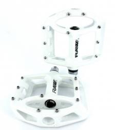 sb3 paire de pedales unicolor blanc