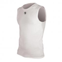 endura t shirt sans manches translite baselayer blanc
