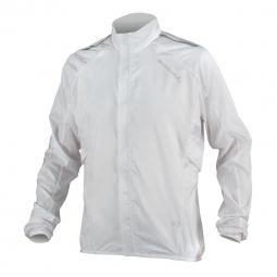 endura veste coupe vent pakajak femme blanc