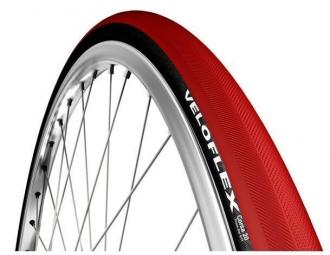 pneu veloflex corsa noir rouge