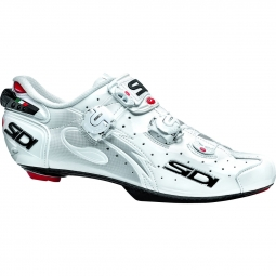 chaussures route sidi wire carbon speedplay blanc