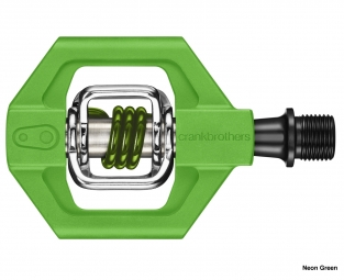 crankbrothers paire de pedales candy 1 vert