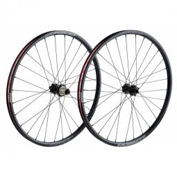 spank paire de roues oozy 26 15mm 12x142mm noir