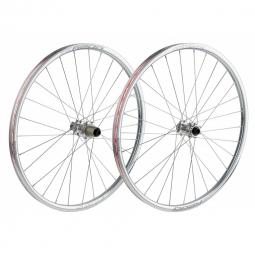 spank paire de roues 26 oozy 15mm 12x142mm chrome