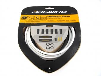 jagwire universal sport brake kit blanc pour freins