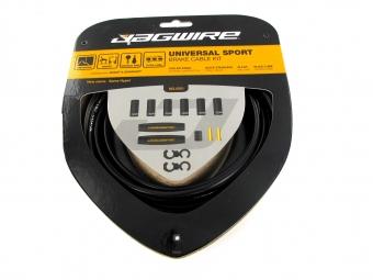 jagwire universal sport brake kit noir pour freins
