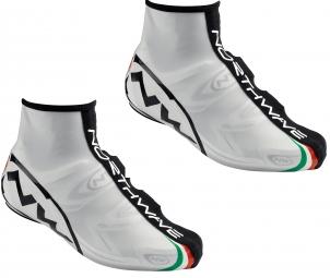 northwave paire de couvres chaussures force blanc noir