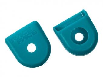 race face paire de proteges manivelles carbone boot pedal turquoise