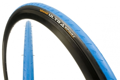 continental pneu ultra sport 700x23c souple bleu