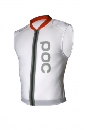 poc gilet de protection dorsale spine vpd coupe slim blanc