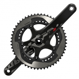 sram pedalier red 22 53 39 dents bb30 non inclus noir